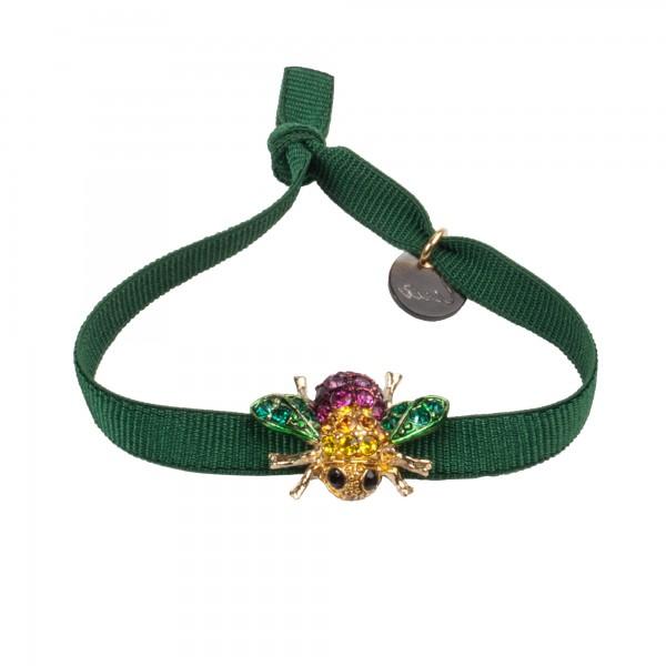 Armband Biene grün