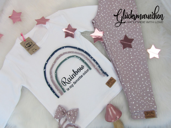 Outfit RAINBOW rosé + GRATIS Haarband