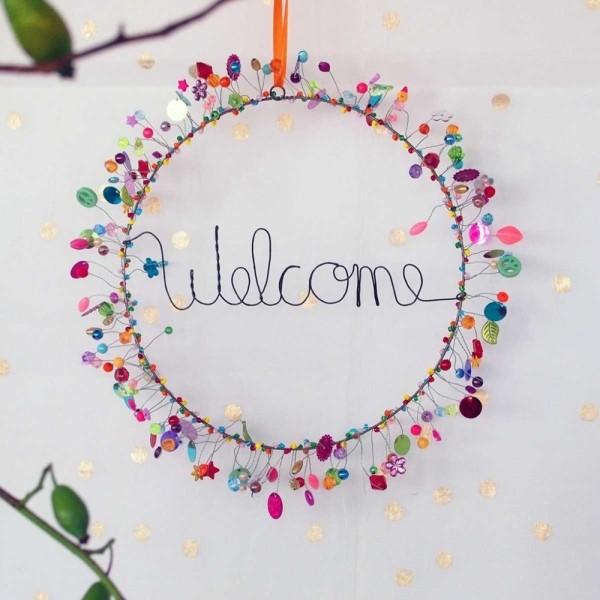 Funkelkranz 'Welcome'