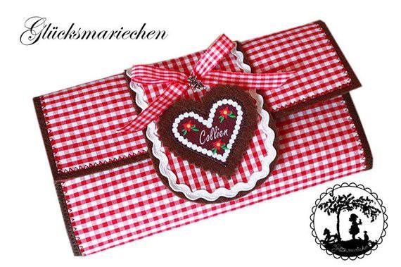 "ALPENSCHICK"" XL Portemonnaie - Wunschname"