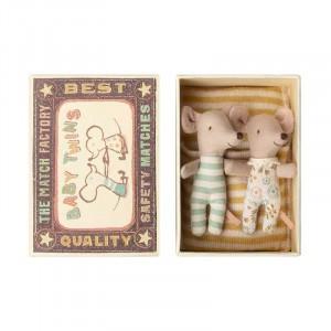 """Maus in der Schachtel """"Baby Zwillinge"""""""