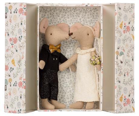 """Brautpaar """"Maus"""""""