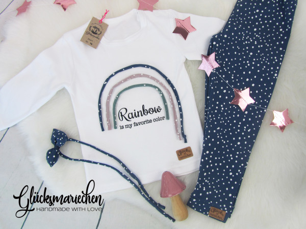 Outfit RAINBOW blue + GRATIS Haarband