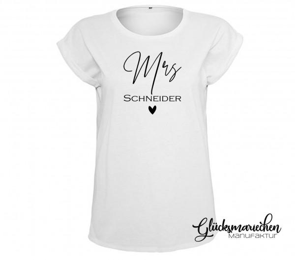 Statement Shirt MRS.