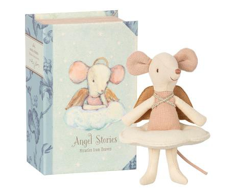"Maus ""Engel"" im Buch"
